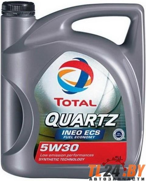 Моторное масло Total Quartz Ineo ECS 5W-30 5L