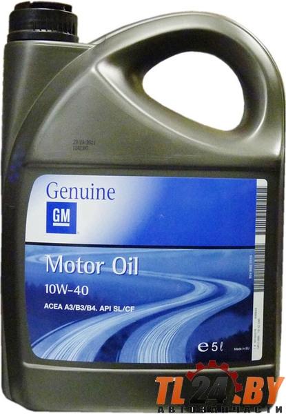 Моторное масло GM Opel 10W-40 5L