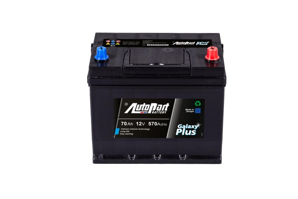 Аккумулятор AutoPart AP570 GALAXY PLUS JAPANESE 70Ah 570A (R+) 261x175x225 mm