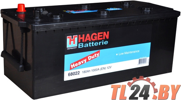 Аккумулятор Hagen 68022 180Ah 1000A 513x223x223mm