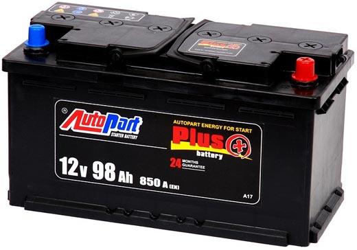 Аккумулятор AutoPart AHD110 110Ah 850A (R+) 350x175x230 mm