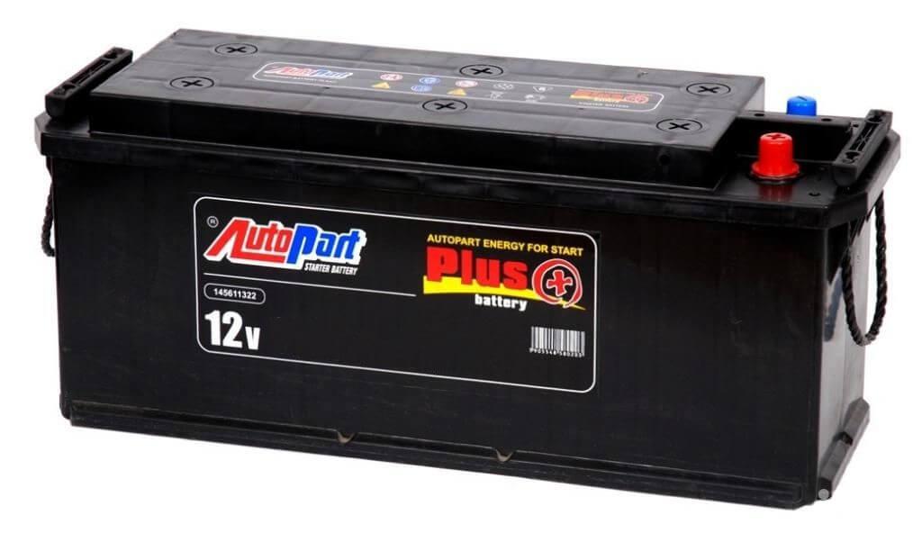 Аккумулятор AutoPart AHD205 205Ah 1250A (L+)  513x224x220 mm