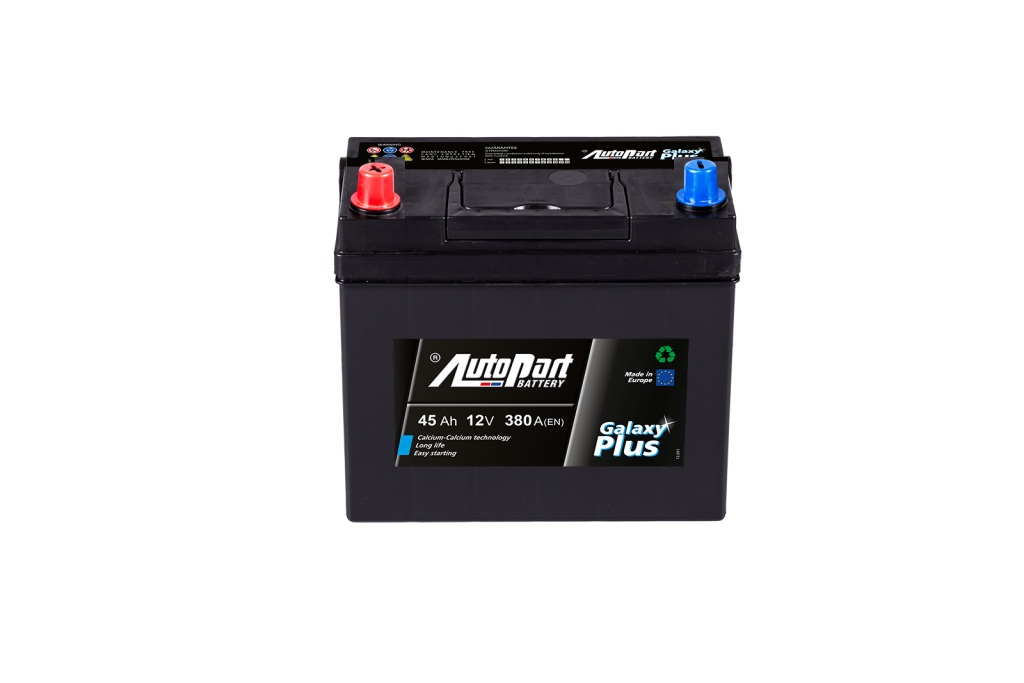 Аккумулятор AutoPart AP451 45Ah/380A (L+) 237x127x225 mm