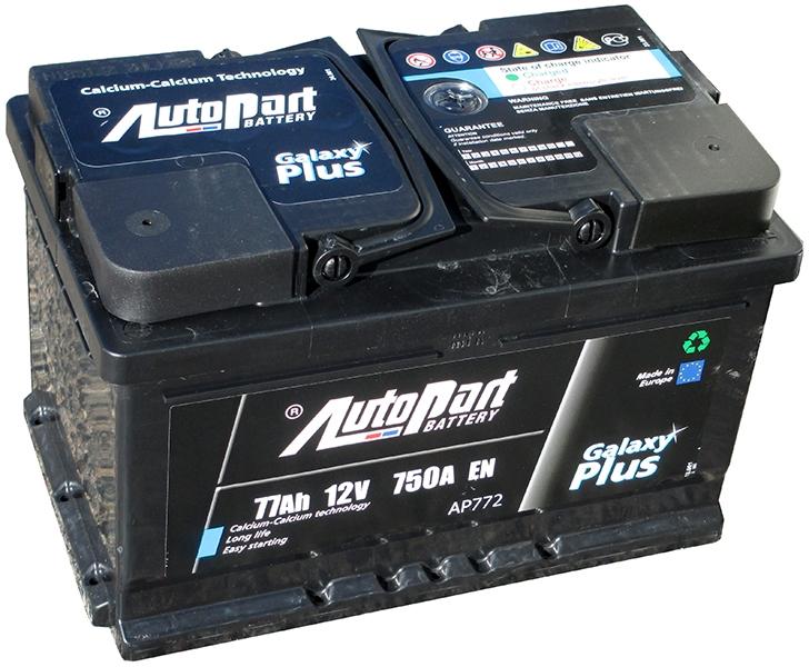 Аккумулятор AutoPart AP772 75Ah 750A (R+)  276x175x175 mm