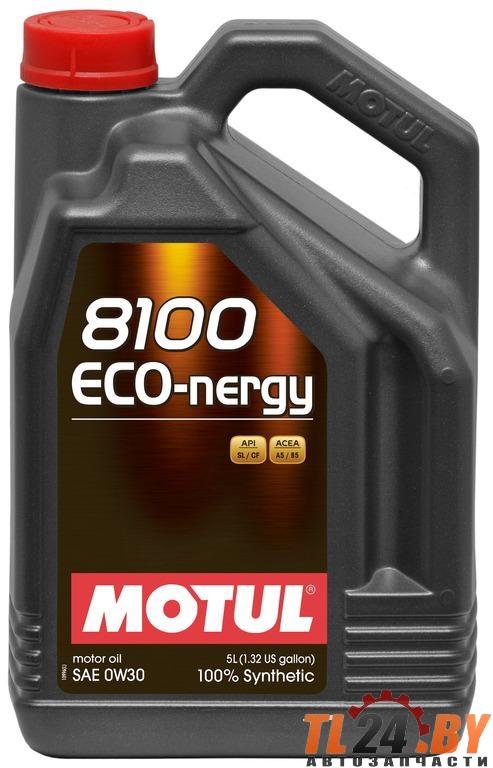Моторное масло Motul 8100 Eco-nergy 0W-30 5L