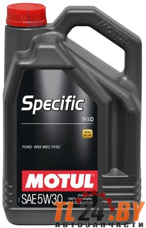 Моторное масло Motul Specific Ford 913 D 5W-30 5L