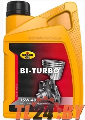 Моторное масло Kroon Oil Bi-Turbo 15W-40 1L