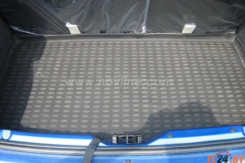 Коврик в багажник Novline NLC. 38. 01. B11 PEUGEOT 206 1998->, хб. (полиуретан)