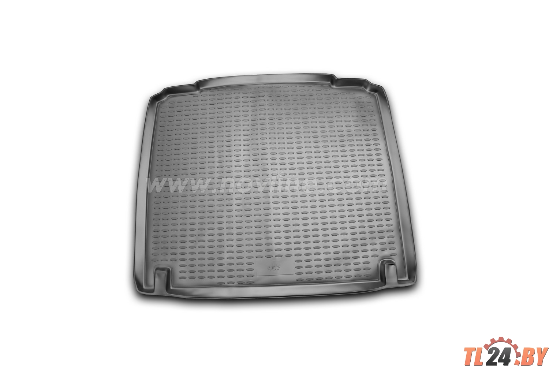 Коврик в багажник Novline NLC.38.04.B10 PEUGEOT 407 2004->,  сед. (полиуретан)