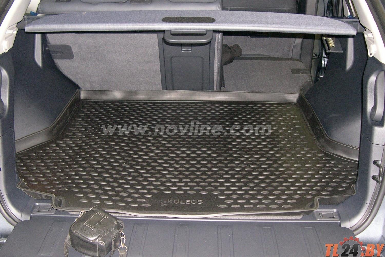 Коврик в багажник Novline NLC.41.14.B13 RENAULT Koleos 2008->,  кросс. (полиуретан)