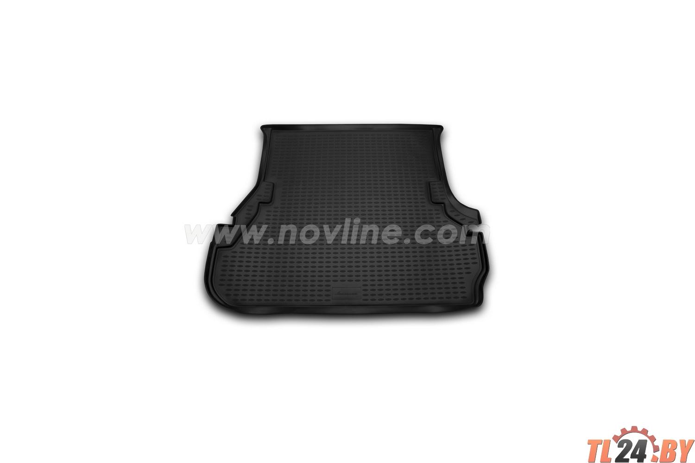 Коврик в багажник Novline NLC.48.06.B13g TOYOTA Land Cruiser 100 1998-2007,  внед. (полиуретан,  серый)