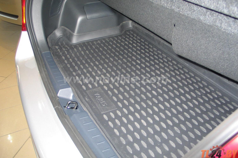 Коврик в багажник Novline NLC.48.10.B11 TOYOTA Yaris 01/2006->,  х.б. (полиуретан)