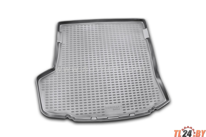 Коврик в багажник Novline NLC.48.15.B10g TOYOTA Corolla 01/2007-2010,  2010->,  сед. (полиуретан,  серый)