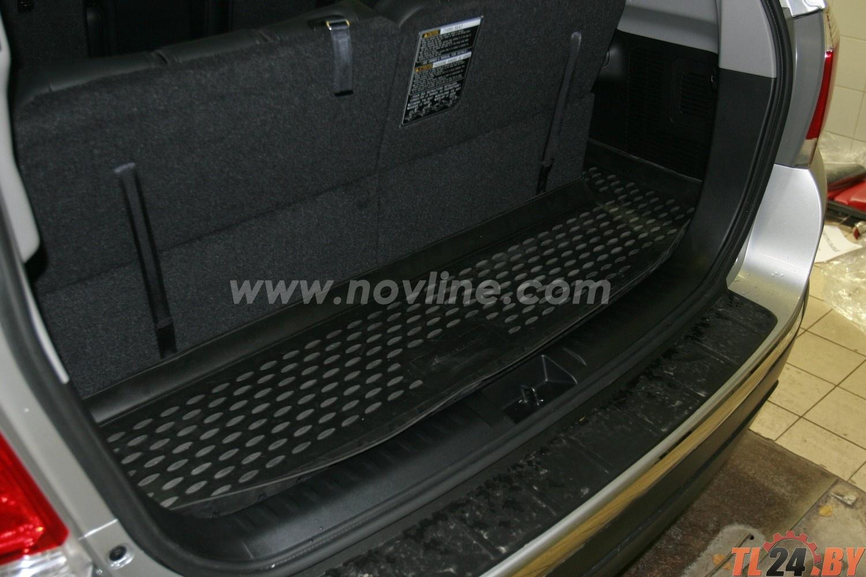 Коврик в багажник Novline NLC.48.50.B13 TOYOTA Highlander 2010-2013,  внед. кор. (полиуретан)