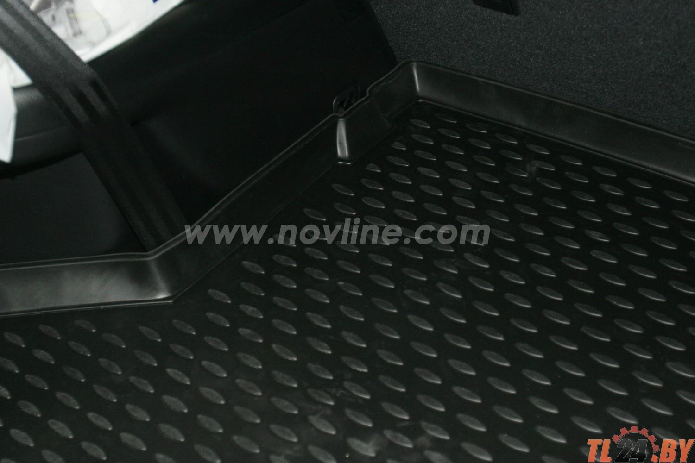 Коврик в багажник Novline NLC.48.50.G13 TOYOTA Highlander 2010-2013,  внед. длин. (полиуретан)