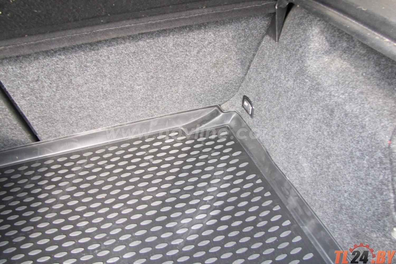 Коврик в багажник Novline NLC.51.04.B11 VW Golf IV 1998-2004,  х.б. (полиуретан)