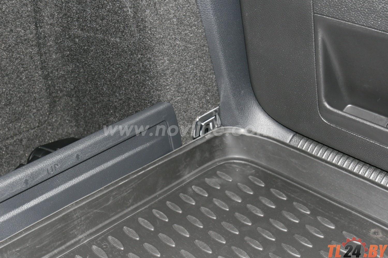 Коврик в багажник Novline NLC.51.06.B12 VW Passat Variant 09/2005->,  ун. (полиуретан)
