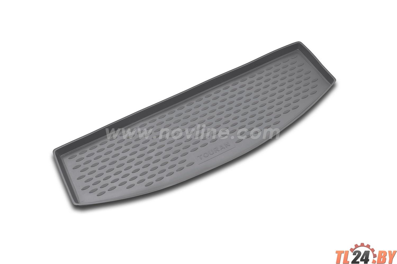 Коврик в багажник Novline NLC.51.10.B14g VW Touran 11/2006->,  мв.,  5 мест (полиуретан,  серый)
