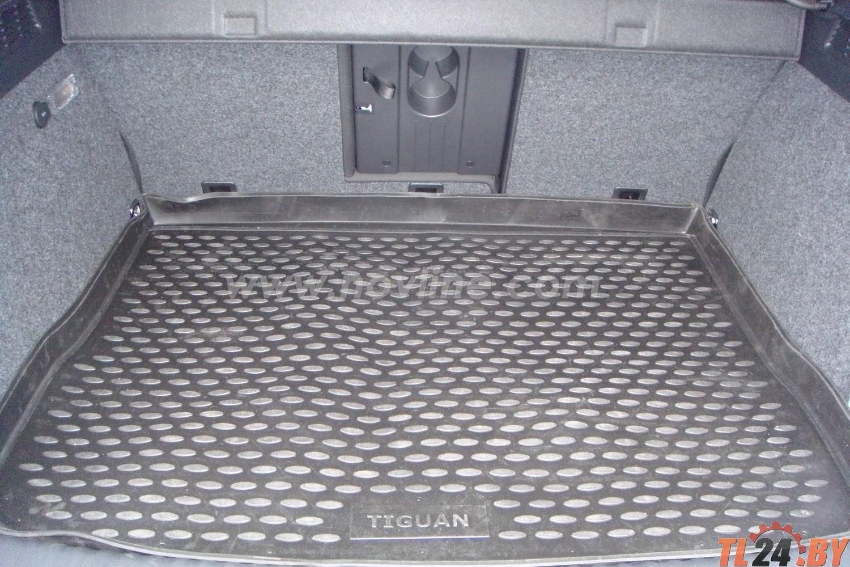Коврик в багажник Novline NLC. 51. 21. B13 VW Tiguan 10/2007->, кросс. (полиуретан)
