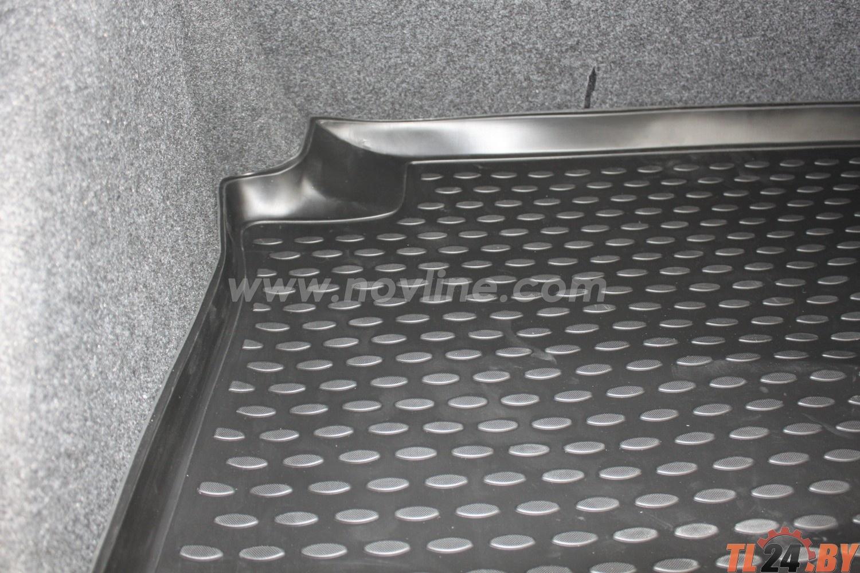 Коврик в багажник Novline NLC.51.30.B10 VW Polo 2010->,  сед. (полиуретан)