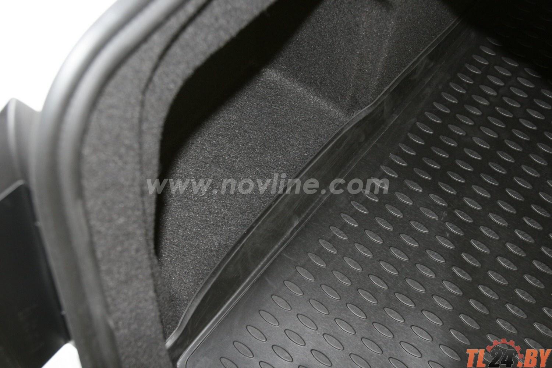 Коврик в багажник Novline NLC. 51. 34. B10 VW Passat B7, 2011-> сед. (полиуретан)