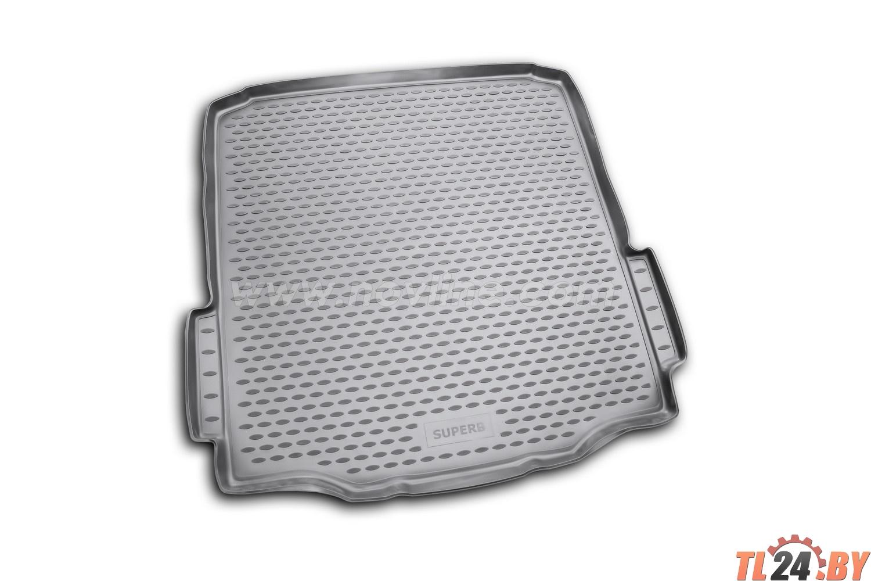 Коврик в багажник Novline NLC.45.04.B10 SKODA Superb 2008->,  сед. (полиуретан)