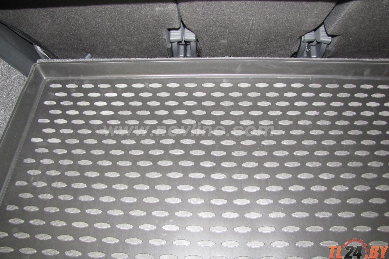 Коврик в багажник Novline NLC.45.10.B12 SKODA Yeti 03/2009->,  кросс. (полиуретан)