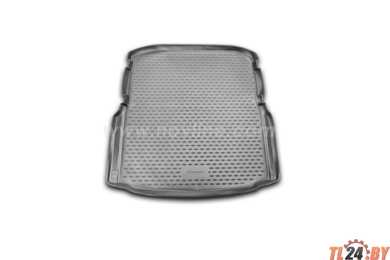 Коврик в багажник Novline NLC.45.16.B10 SKODA Octavia,  2013->,  лифтбек. (полиуретан)