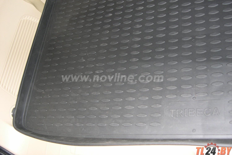 Коврик в багажник Novline NLC.46.05.B12g SUBARU Tribeca 2005->,  кросс.,  5 мест. (полиуретан,  серый)