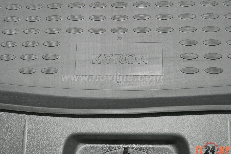 Коврик в багажник Novline NLC.61.09.B12 SSANGYONG Kyron 2005->,  внед. (полиуретан)