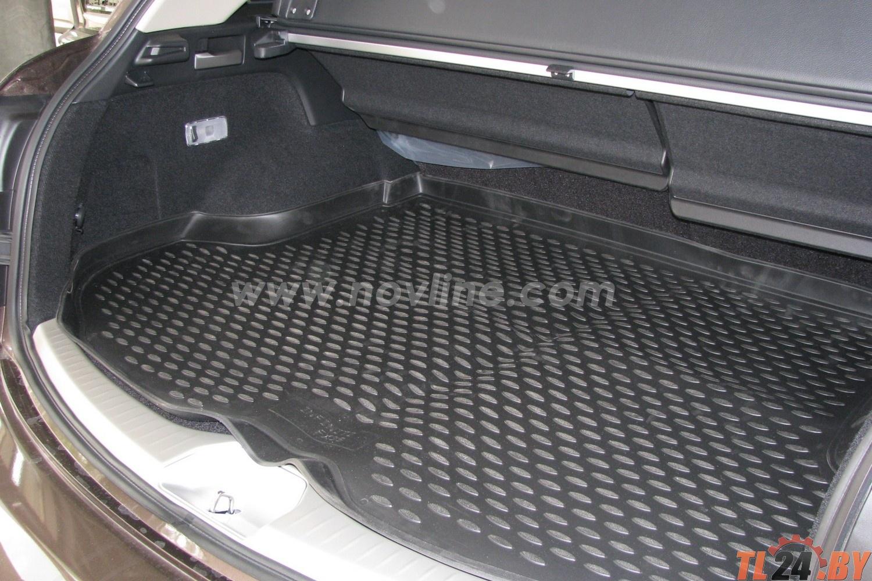 Коврик в багажник Novline NLC.76.01.B13 INFINITI FX35 2003-2009,  кросс. (полиуретан)
