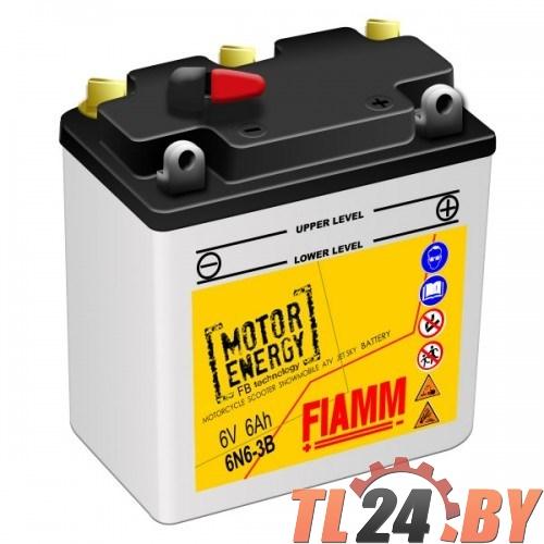 Аккумулятор Fiamm 6N6-3B (7904465) евро 6V 6Ah 25A