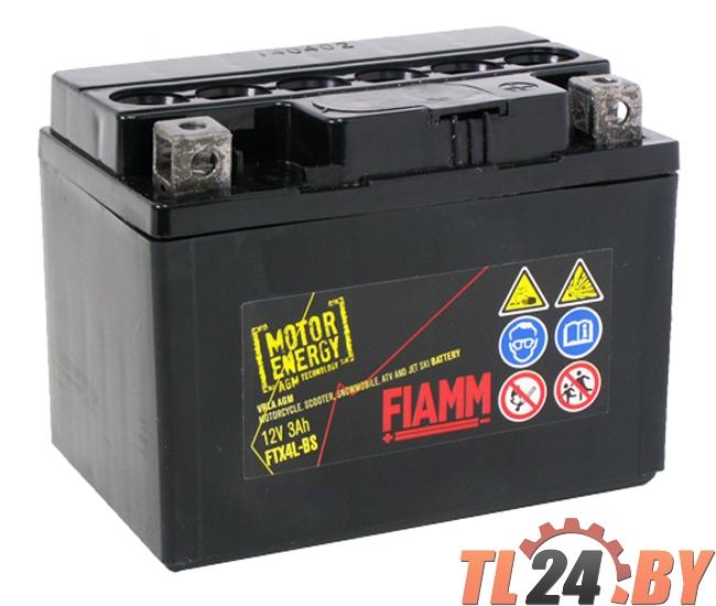 Аккумулятор Fiamm FTX4L-BS (7904475) евро 12V 3Ah