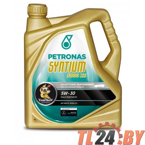 Моторное масло Petronas Syntium 5000 XS 5W-30 5L
