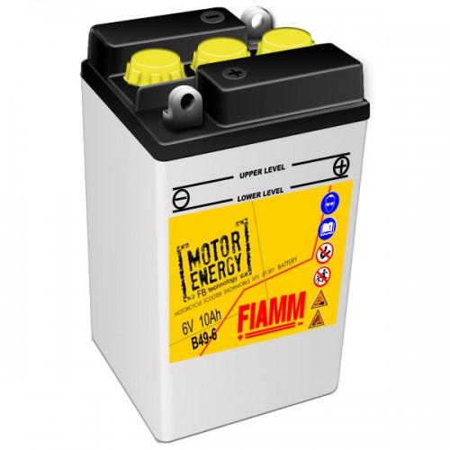 Аккумулятор для мототехники FIAMM 10 Ah  6V (B49-6) moto  (90x82x160mm)