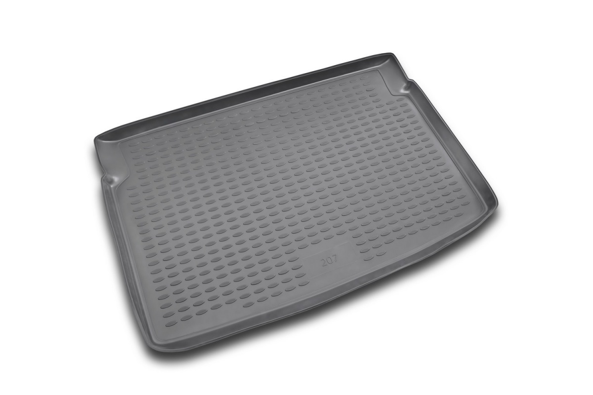 Коврик в багажник PEUGEOT 308 2007-2014,  хб. (полиуретан) Артикул: CARPGT00002