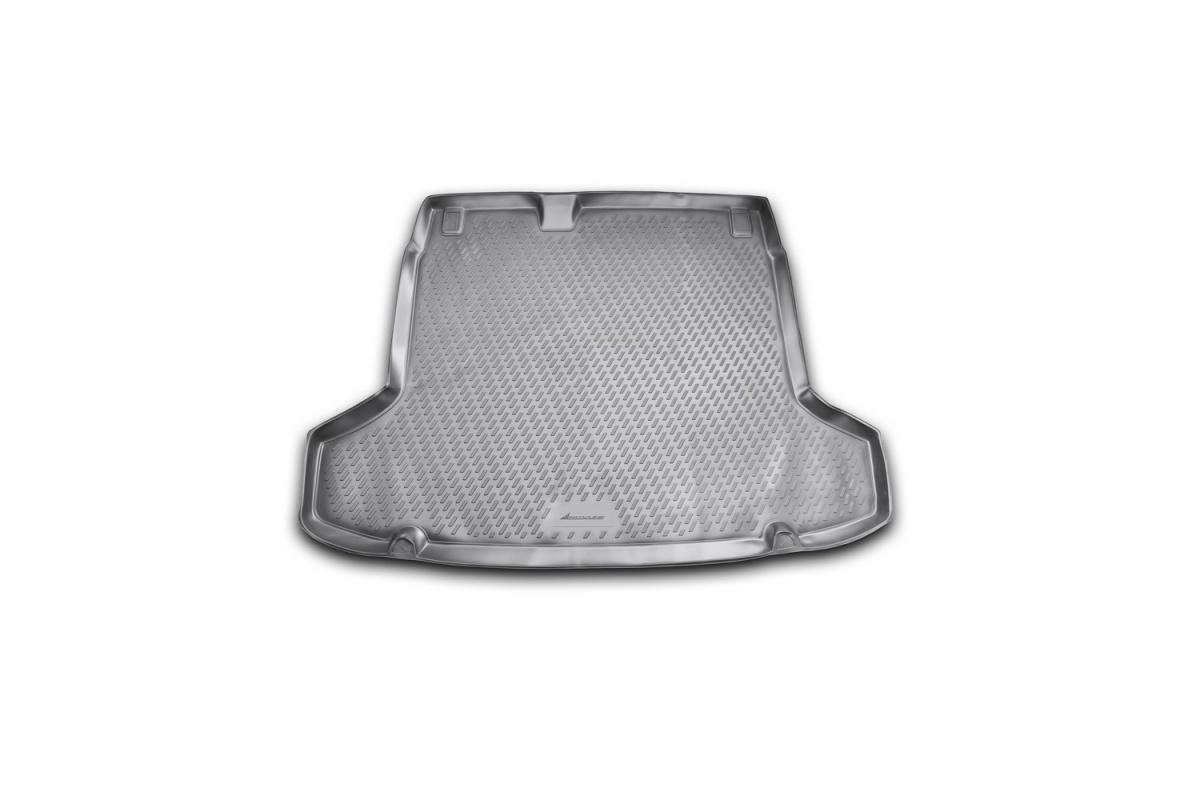 Коврик в багажник PEUGEOT 508,  02/2012-> сед. (полиуретан) Артикул: CARPGT00004