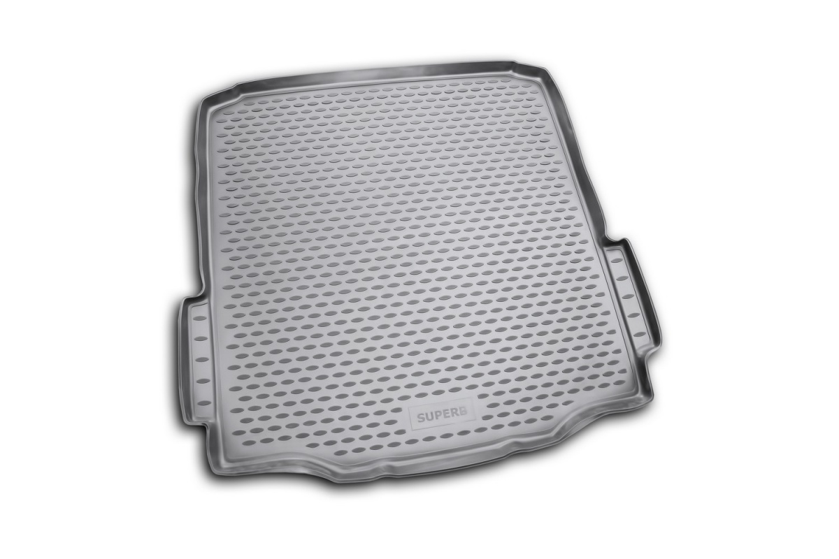 Коврик в багажник SKODA Superb 2008->,  сед. (полиуретан) Артикул: LGT.45.04.B10