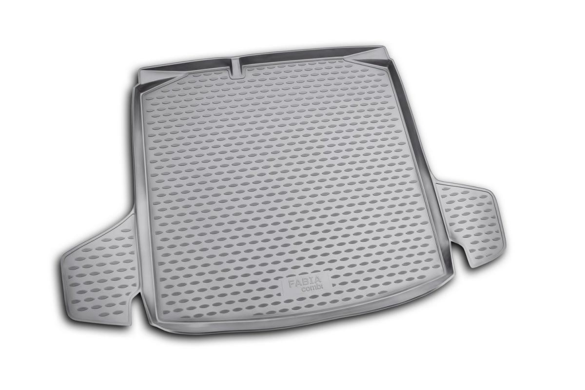 Коврик в багажник SKODA Fabia 2007->,  ун. (полиуретан) Артикул: NLC.45.06.B12